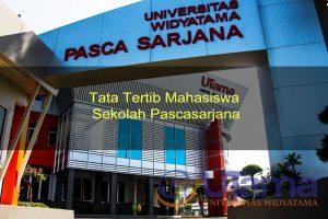 Tata Tertib Mahasiswa Sekolah Pascasarjana