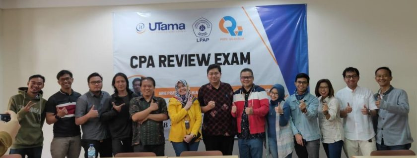 Mahasiswa PPAk mengikuti CPA Exam Review
